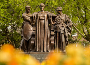 University of Illinois Alma Mater statue