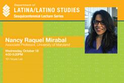 Nancy Raquel Mirabal, University of Maryland, College Park