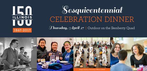 Sesquicentennial Celebration Dinner