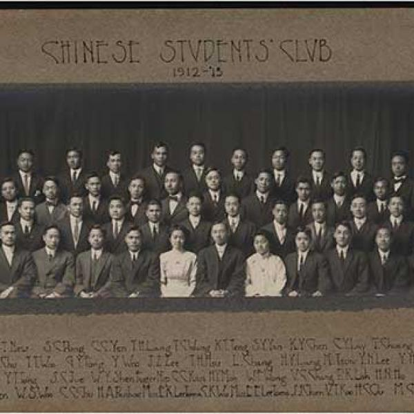 Chinese Students Club member in 1912-13