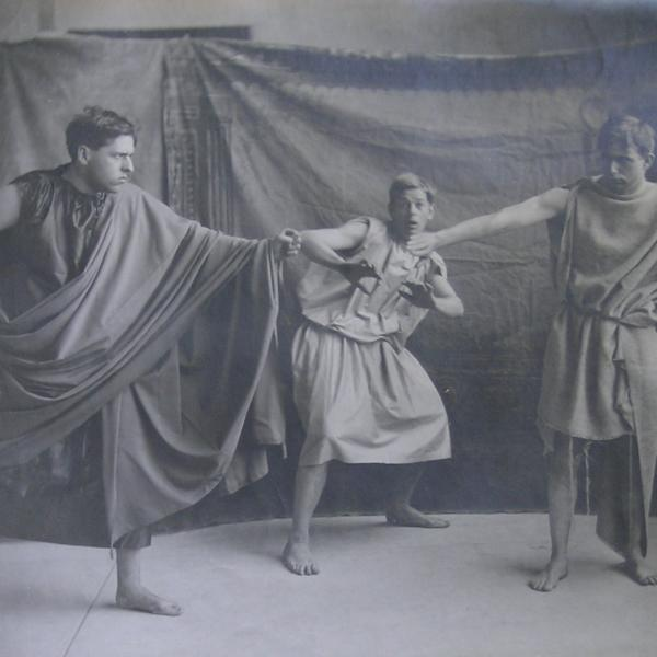Classics Students' Performance of Aristophanes' Clouds