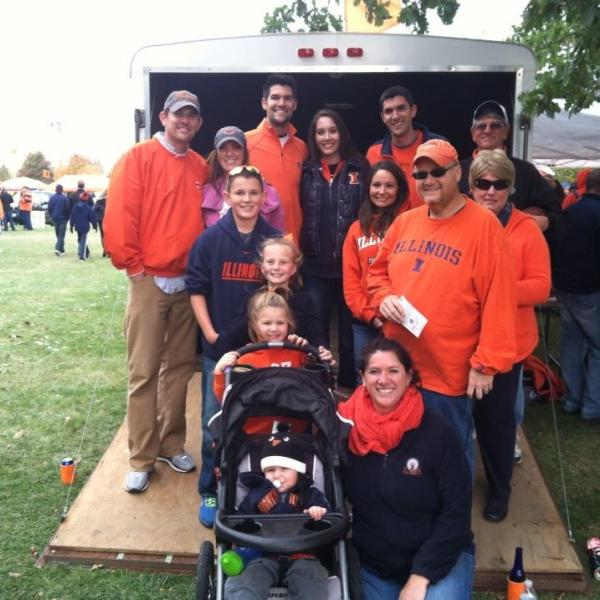 Generations of Illini Fans!