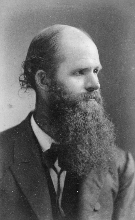 Thomas Jonathan Burrill, ca. 1875. Credit University Archives.