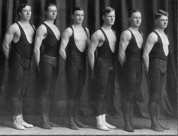1911 Illinois men's gymnastics team