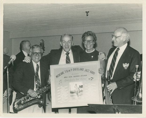 Medicare 7, 8, or 9 Dixieland Cooperative Band