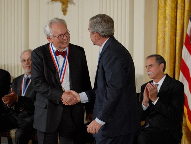 Charles P. Slichter receives National Medal of Science