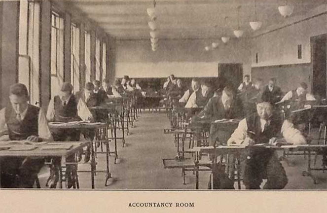 CPA Exams begin at Illinois