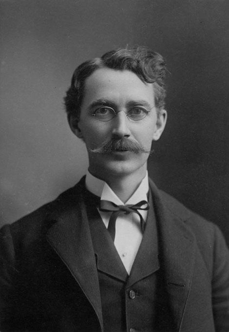 Arthur Palmer ca. 1890. Credit University Archives.