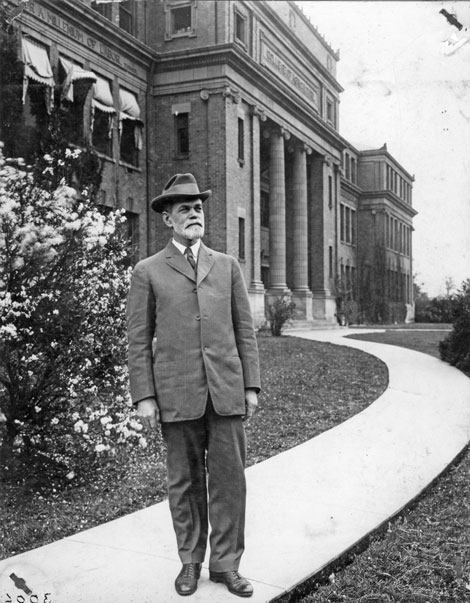 Eugene Davenport, May 1913. Credit University Archives