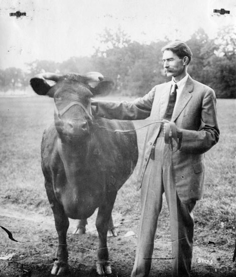 Herbert W. Mumford, July 1912. Credit University Archives.