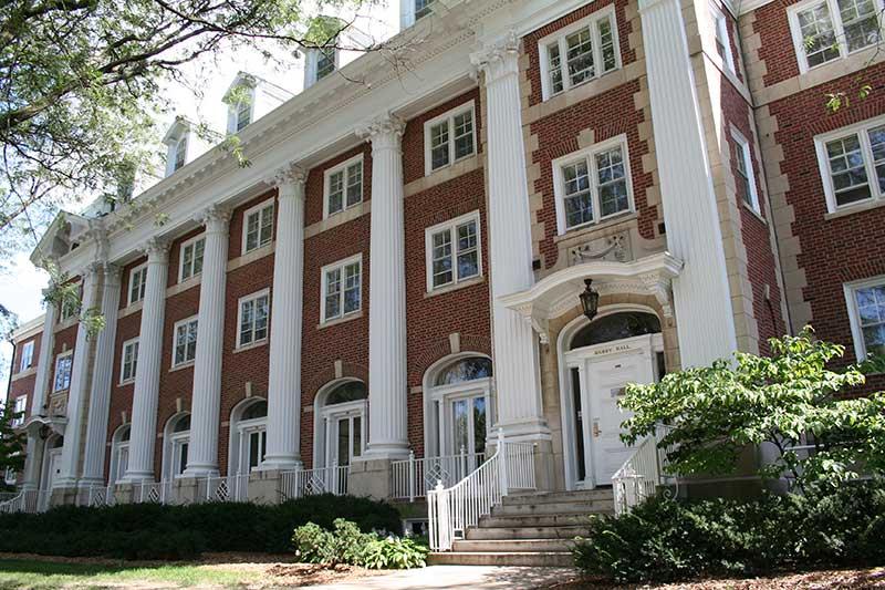 Busey Hall/Start of University Housing