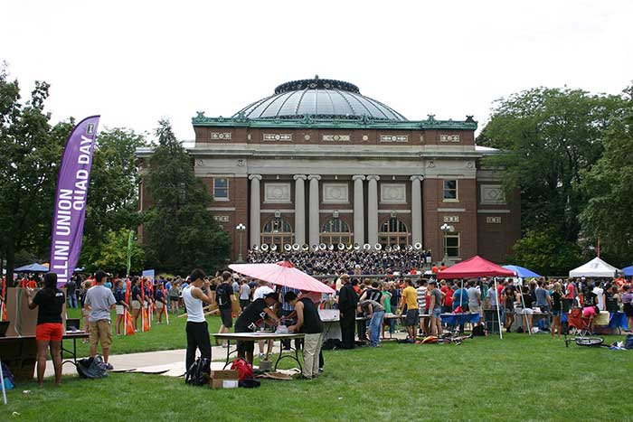 Illini Union Quad Day