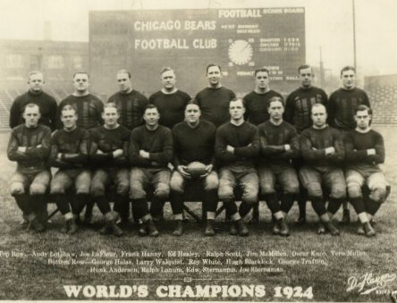 Chicago Bears football team is founded