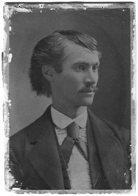 James Newton Matthews, 1872. Credit University Archives.